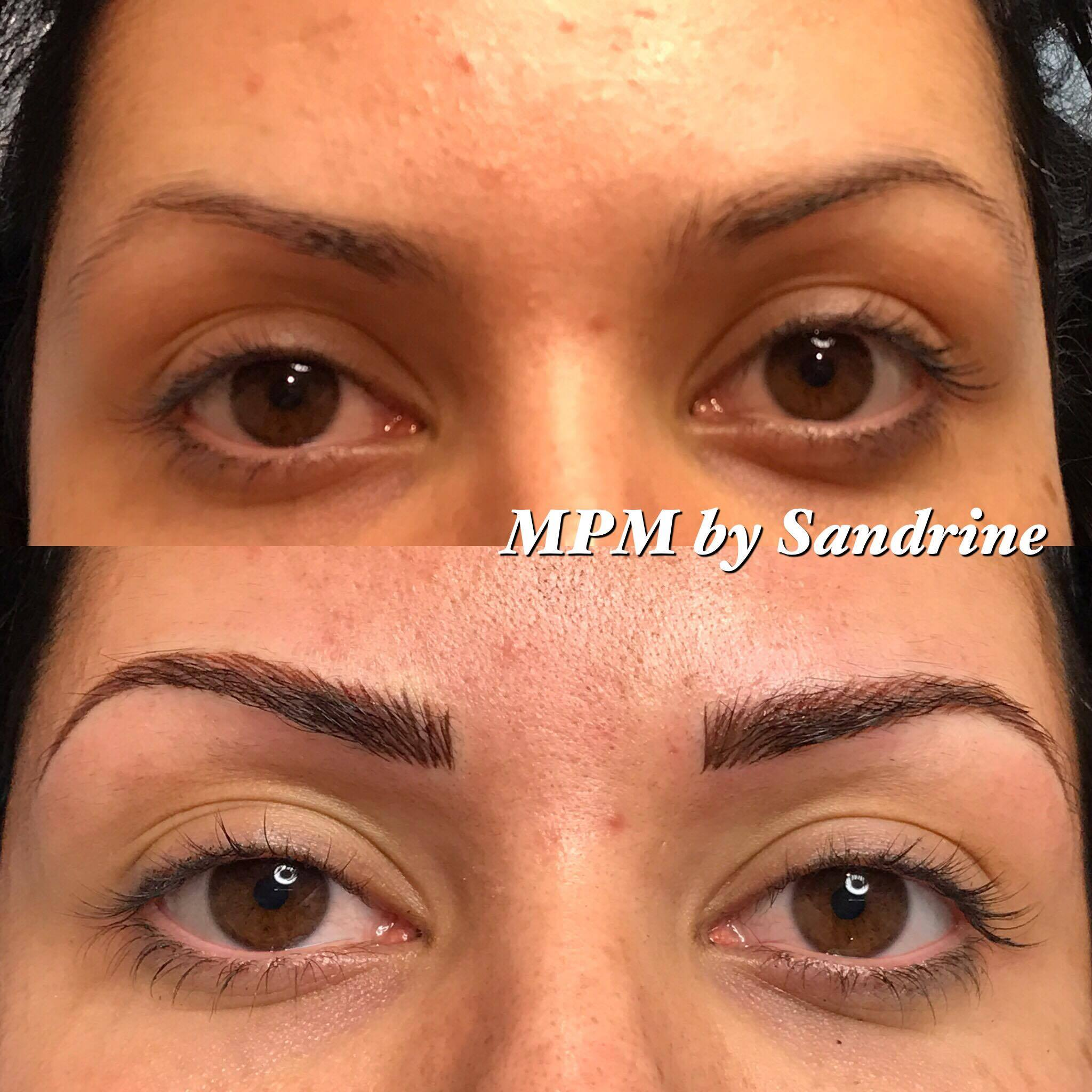 Maquillage permanent des sourcils montpellier institut de beaut - Maquillage permanent sourcil poil poil ...