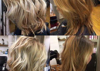 Balayage Californien, salon de coiffure Montpellier
