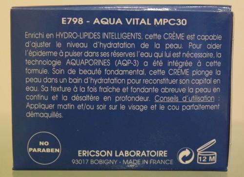 CRÈME AQUA VITAL MPC30 - E798
