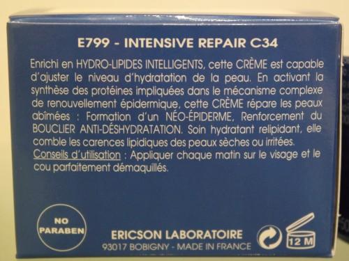 CRÈME INTENSIVE REPAIR C34 - E799