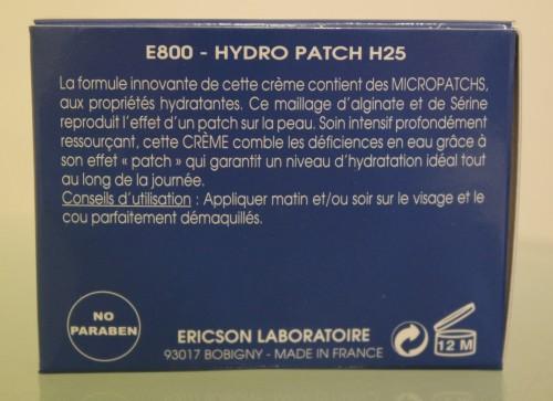 CRÈME HYDRO PATCH H25 - E800