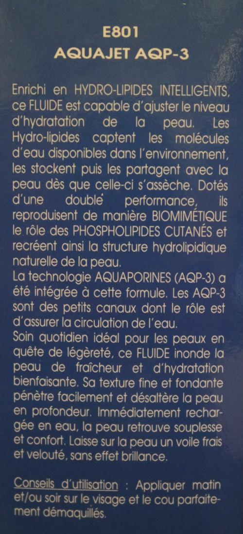 AQUAJET AQP-3 / FLUIDE HYDRATANT ACTIF - E801