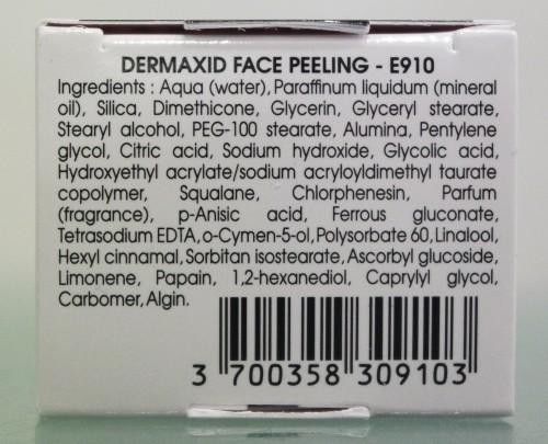 DERMAXID FACE PEELING - E910