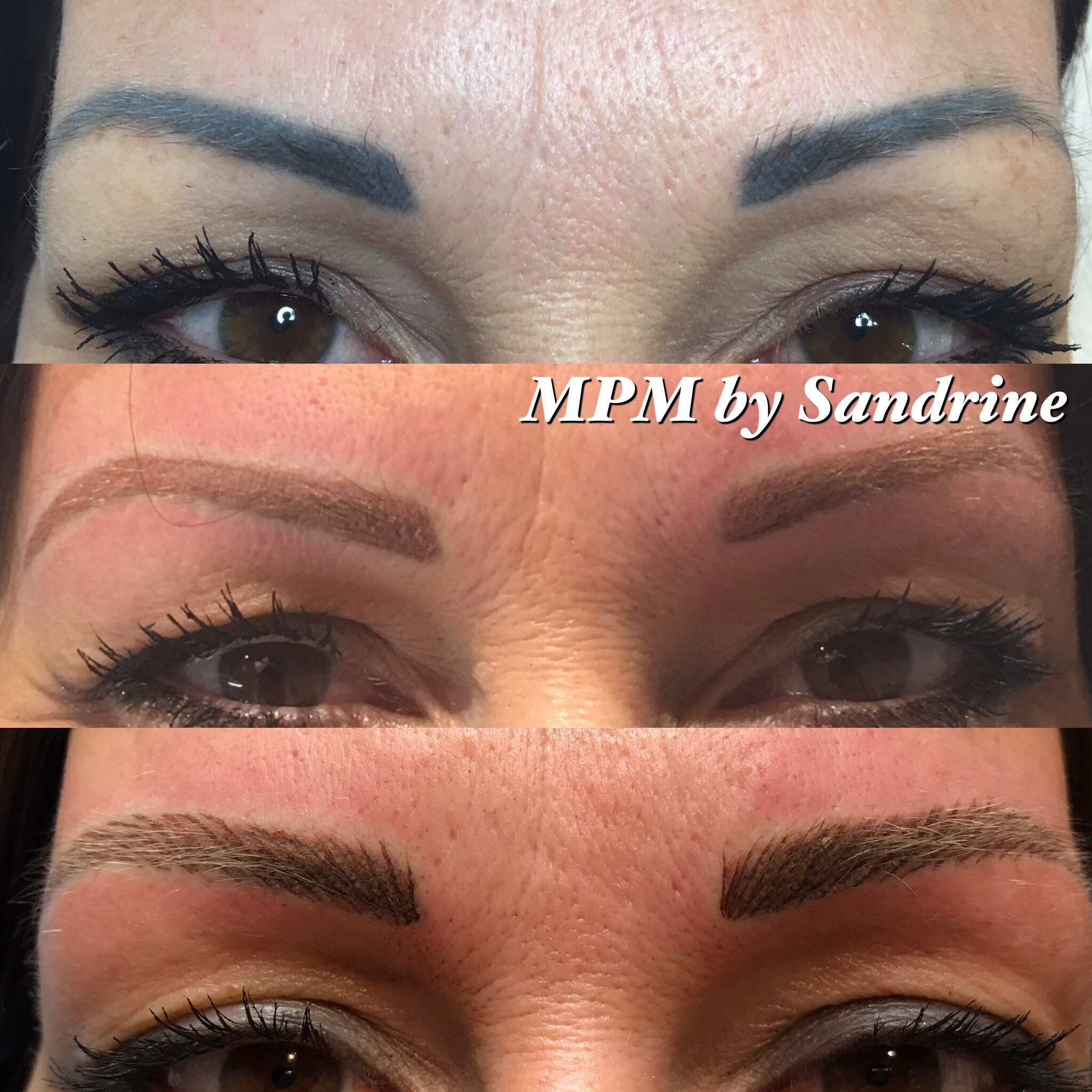 Maquillage Permanent Des Sourcils Institut De Beaute Beauty Art