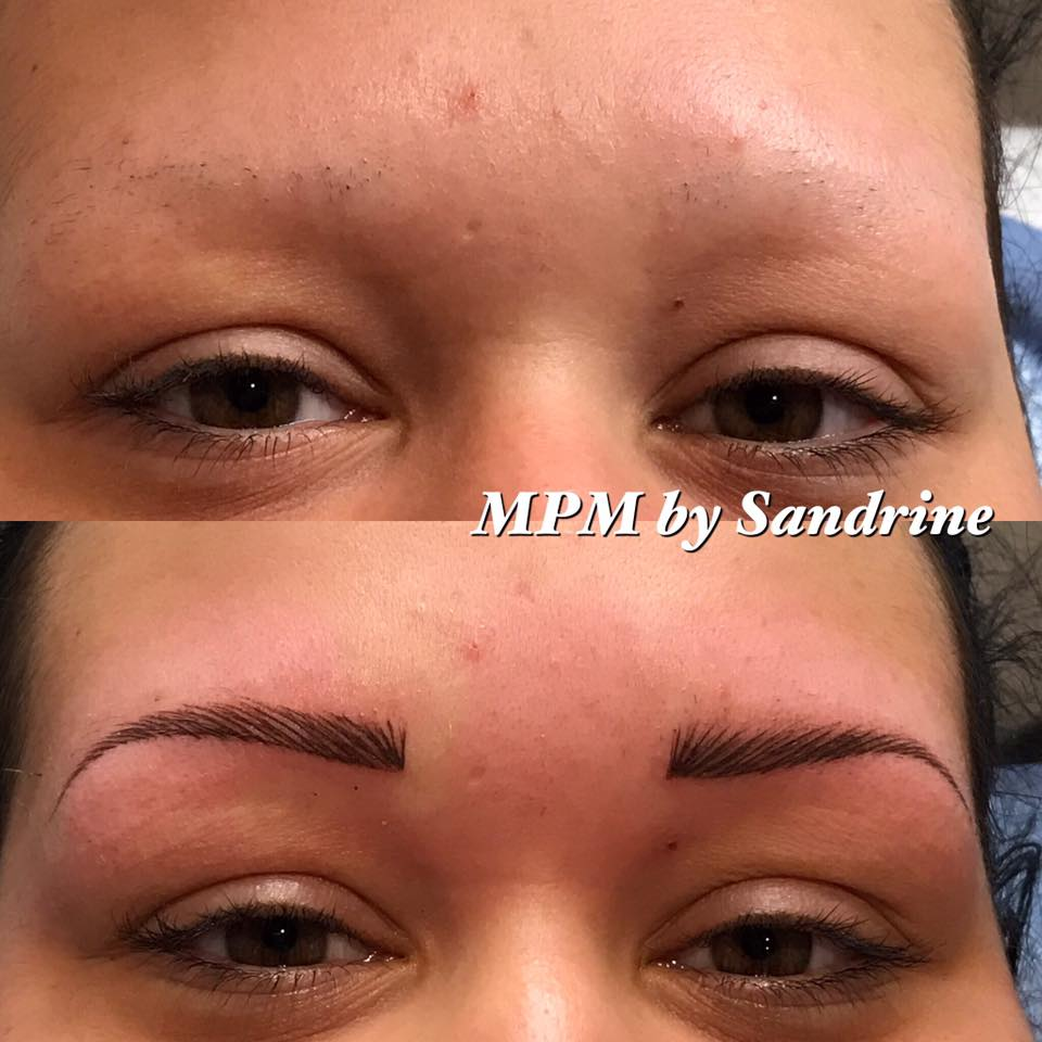 Maquillage permanent des sourcils institut de beaut beauty art - Maquillage permanent sourcil poil poil ...