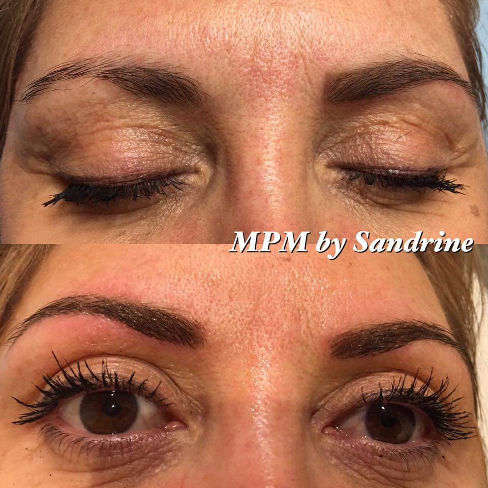 Maquillage permanent des sourcils montpellier institut - Maquillage permanent sourcil poil poil ...