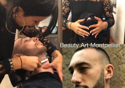 Barbier salon de coiffure à Montpellier