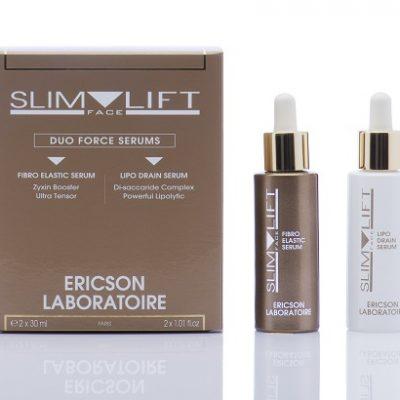 Duo Force Sérums Lipo Drain et Fibro Elastic Slim-Face-Lift - E2115